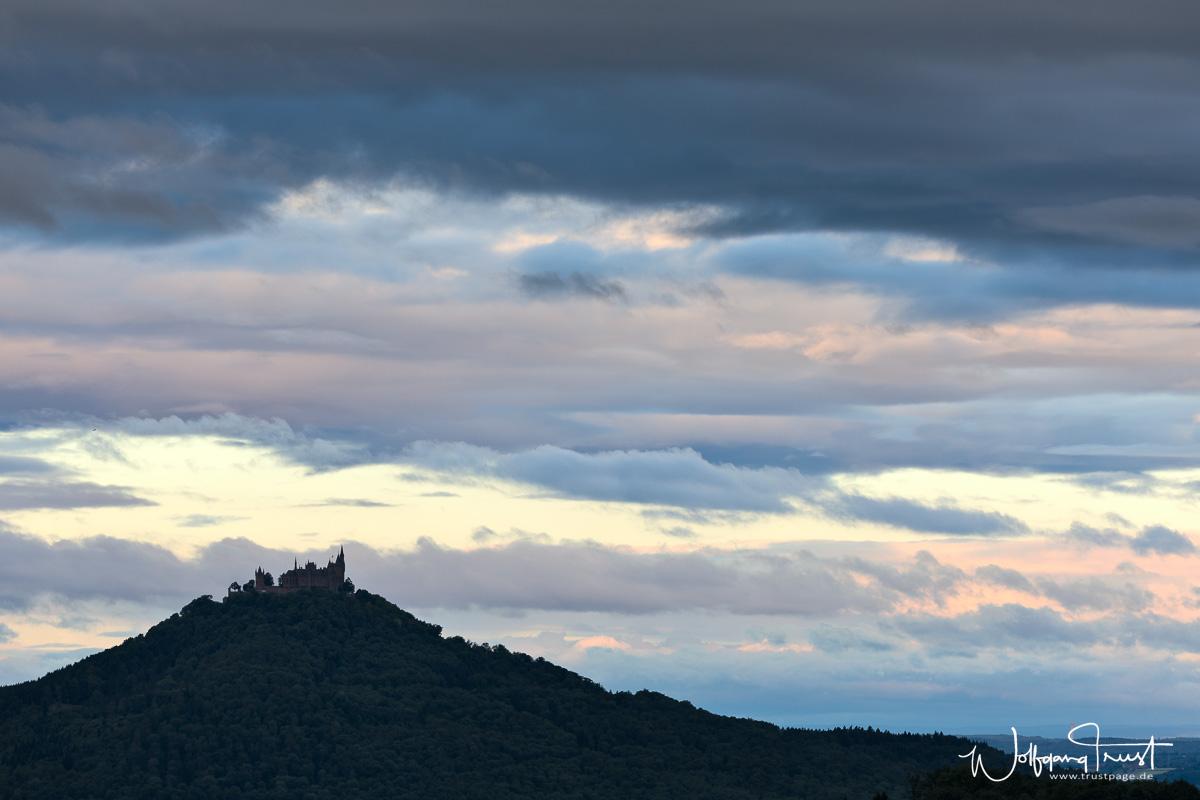Blick von der Beurener Heide Richtung Hohenzollern