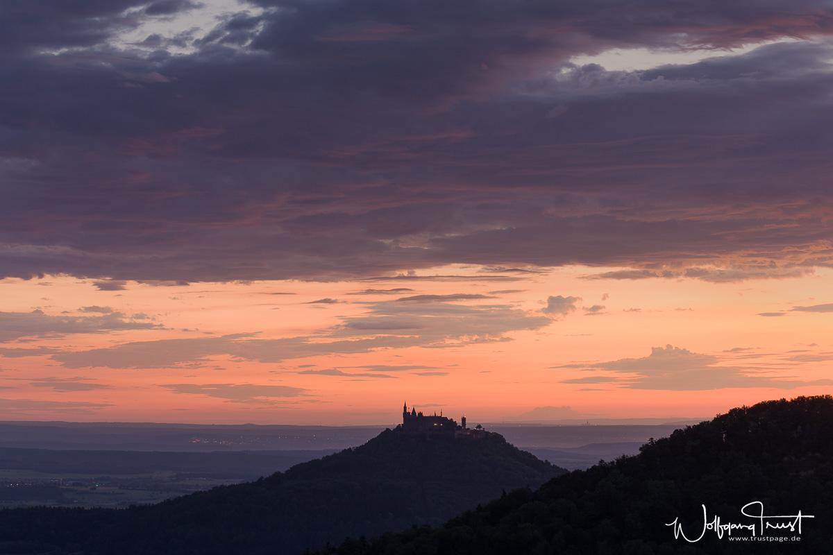Tagesanbruch über Hohenzollern