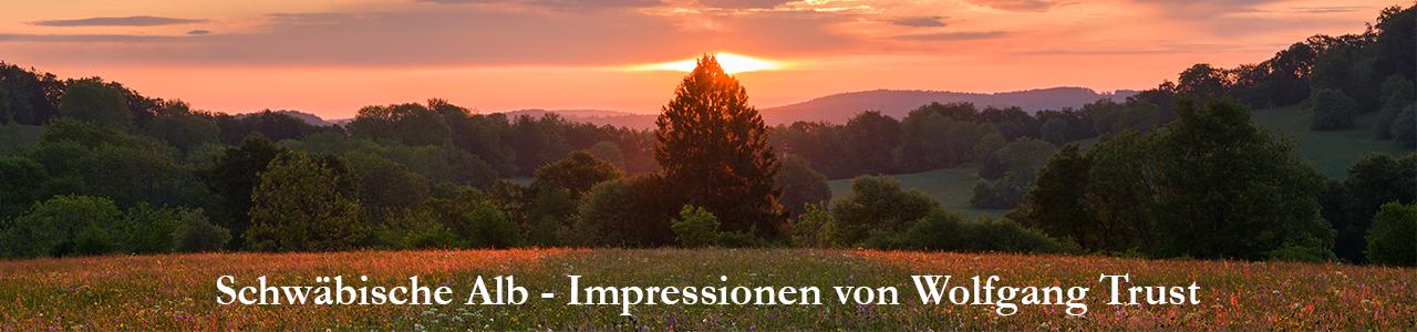 Schwäbische Alb - Impressionen von Wolfgang Trust